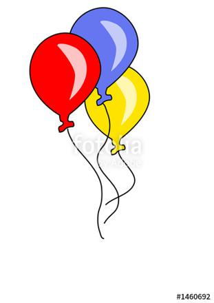 3 ballons