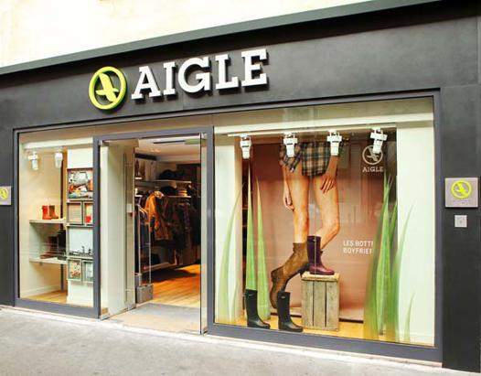 aigle paris boutique