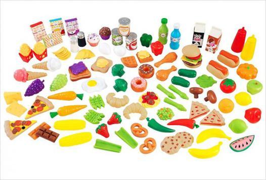 aliments jouets pour dinette