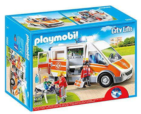 ambulance playmobil 6685