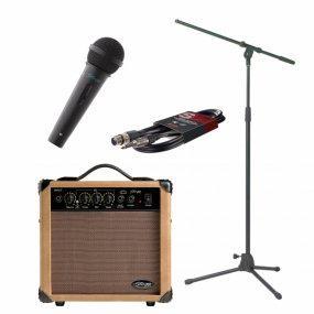 ampli micro chant