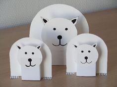 animaux polaires bricolage