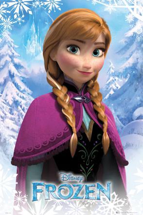 anna dans la reine des neiges