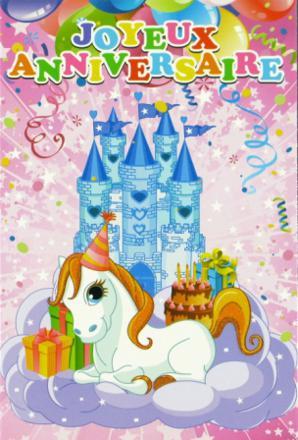 anniversaire petit poney
