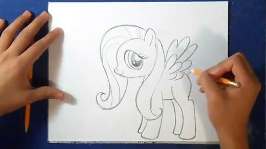 apprendre a dessiner my little pony