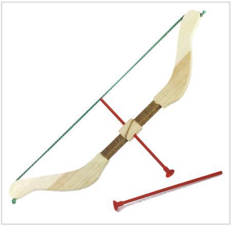 arc en bois enfant