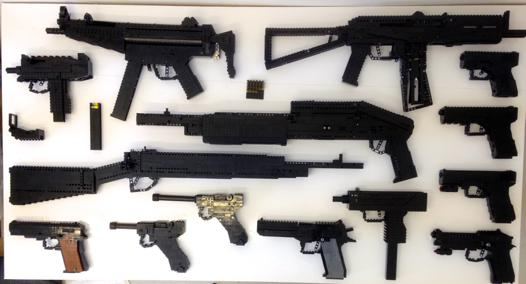 arme lego a vendre