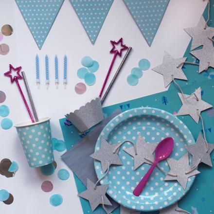 assiette anniversaire reine des neiges