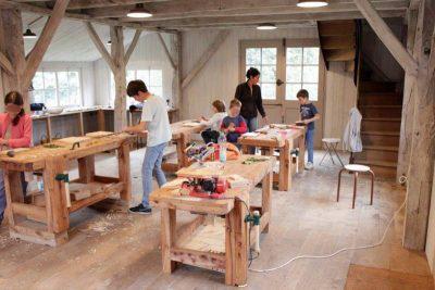 atelier en bois