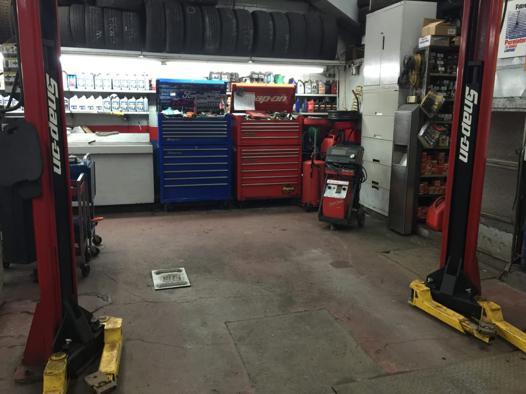 atelier mécanique