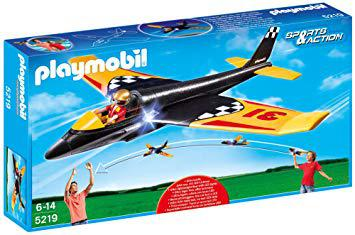 avion playmobil planeur