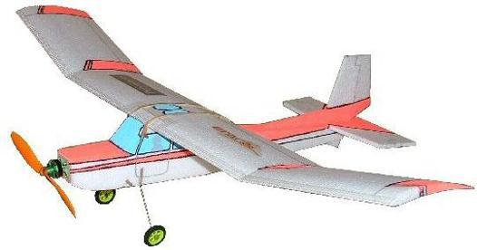 avion polystyrene radiocommandé