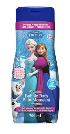 bain moussant disney