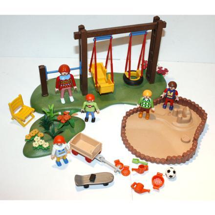 balancoire playmobil