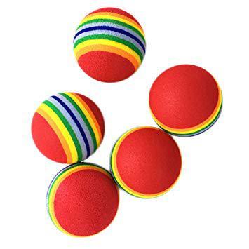 balle multicolore