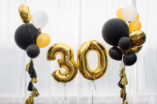 ballon chiffre helium