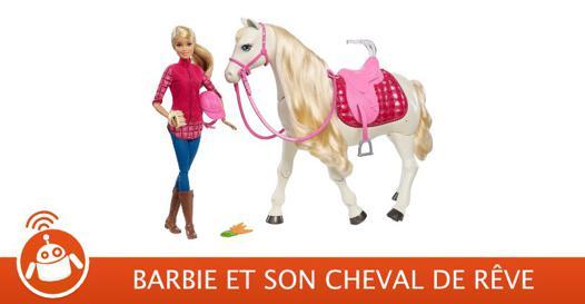 barbie cheval