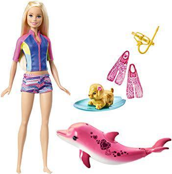 barbie dauphin magique