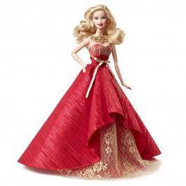 barbie de collection de noel
