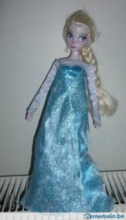 barbie elsa reine des neiges