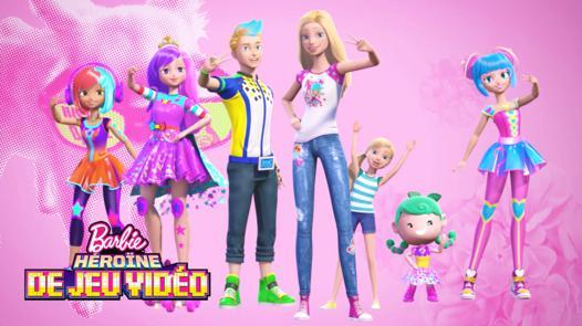 barbie et les jeux video