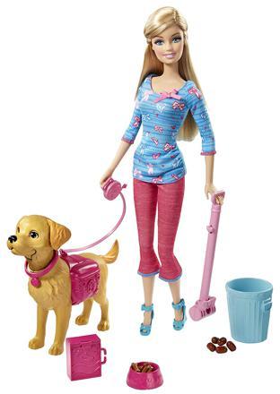 barbie et son chien