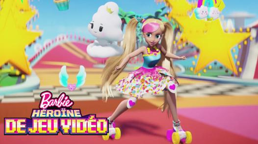 barbie jeu video