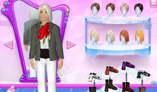 barbie jeux de mode