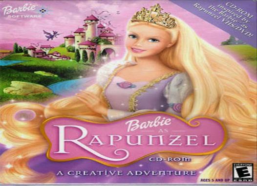 barbie raiponce en streaming