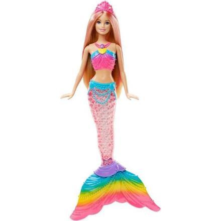barbie sirène couleurs et lumières