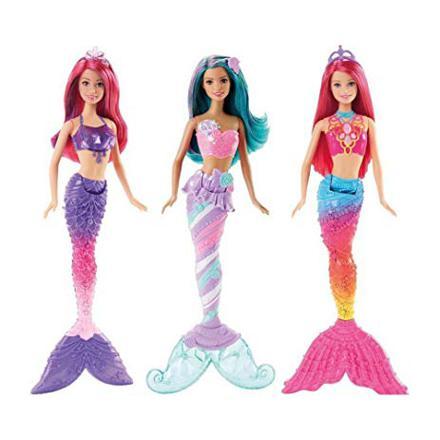 barbie sirene multicolore
