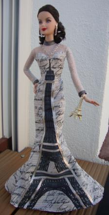 barbie tour eiffel