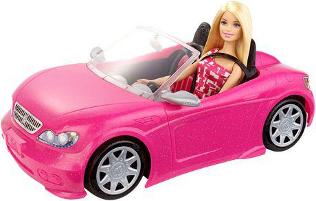 barbie voiture decapotable