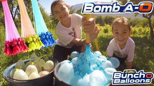 bataille bombe à eau