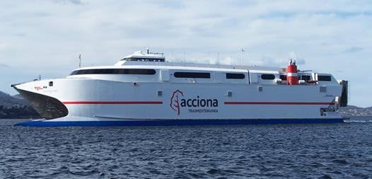bateau almeria nador