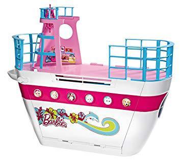 bateau de barbie
