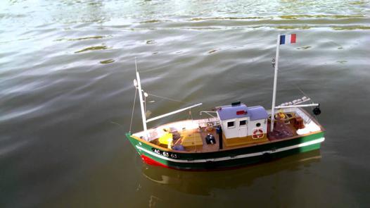 bateau modelisme rc