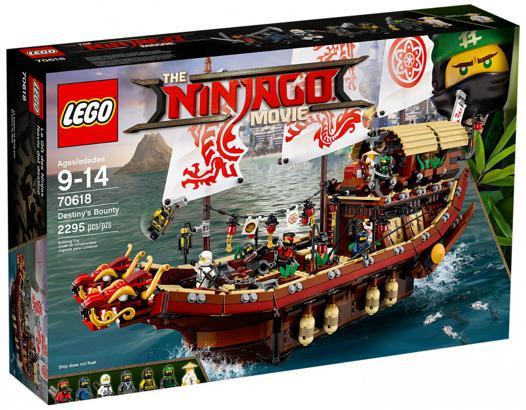 bateau ninjago