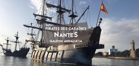 bateau pirate des caraibes nantes