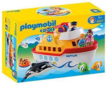 bateau playmobil 123