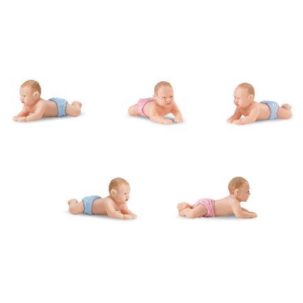 bébé plastique miniature