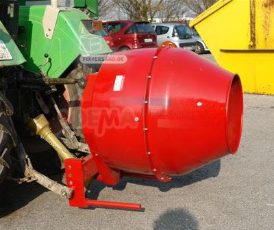 betonniere sur tracteur