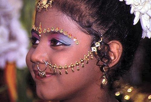 bijoux visage
