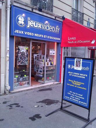 boutique jeux video occasion paris