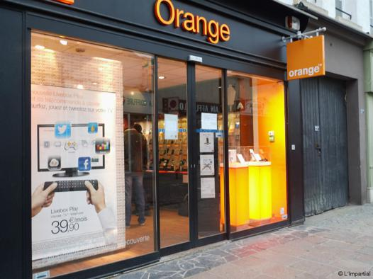 boutique orange meaux