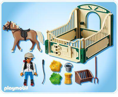 box chevaux playmobil