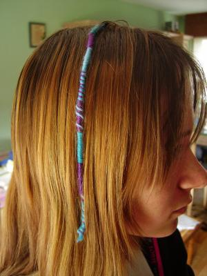 bracelet brésilien cheveux