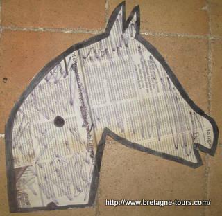 bricolage cheval bâton