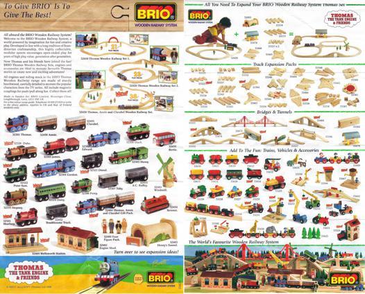 brio train catalog