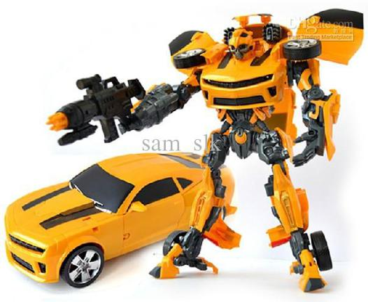 bumblebee robot toy